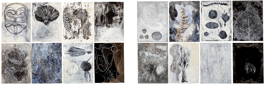 Group of 16 drawings, Some of the Sum