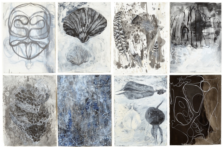 Group of 8 drawings, Some of the Sum